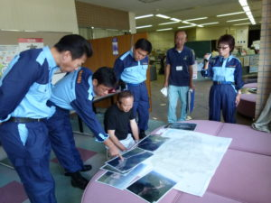 2011年9月13日 県議会改新クラブ 本宮~上秋津~長野現地視察