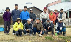 2012年1月1日 「新春花植え(NPO 花つぼみ主催)」に参加