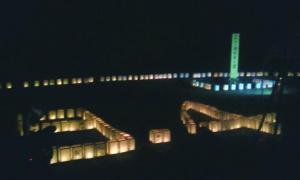 2012年9月3~4日 田辺市熊野地区の復興祈願祭、追悼式に参加