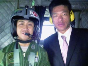 2012年10月27日 航空自衛隊串本分屯基地開庁記念行事にて