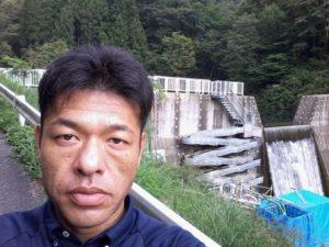 9月11日 山ノ谷砂防の「縦型壁面魚道」個人視察(岐阜県揖斐川町)