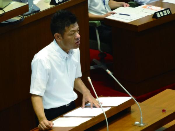 2013年6月24日 和歌山県議会6月定例会の一般質問に登壇
