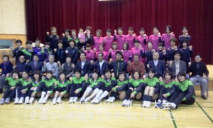 2013年2月16日 日韓交流女子バレーボール大会(韓国開催)に参加