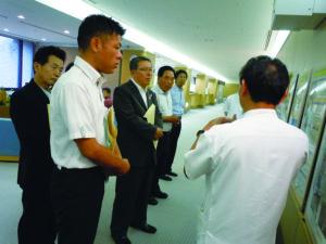2014年9月30日~10月2日 和歌山県議会福祉環境委員会 県内県外調査 兵庫県立粒子線治療センターにて