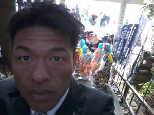 2014年11月23日 万呂地区須佐神社例大祭にて