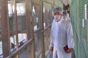 2015年11月30日 農林水産委員会県内視察 畜産試験場養鶏研究所
