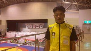 9月29日 紀の国わかやま国体にレスリング競技 大会協力員として参加