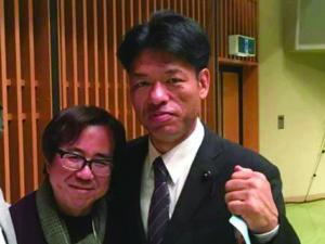 2016年11月11日田辺・弁慶映画祭にて