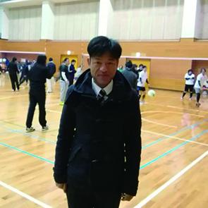 2018年2月12日に田辺市ソフトバレーボール協会 フリー大会開会式に参加した谷口和樹