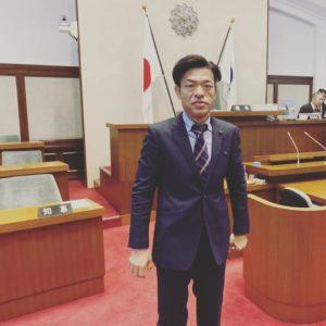 2020年2月 和歌山県議会 議場の谷口和樹