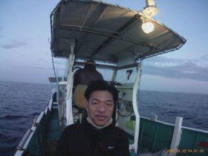 2020年5月22日 イサキ漁に体験乗船する谷口和樹