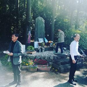 2019年5月5日の龍神村第75回B29墜落米兵慰霊祭の様子