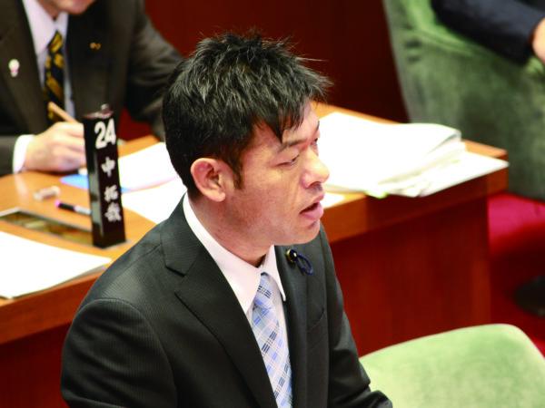 2012年12月17日 和歌山県議会12月定例会で一般質問