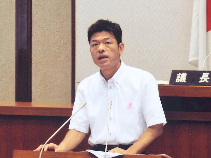 2011年6月22日 和歌山県議会6月定例会(6月議会)の一般質問に登壇